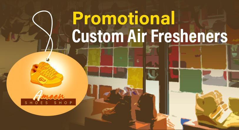 Losing customers? Boost Your Marketing with Promotional Custom Air Fresheners!