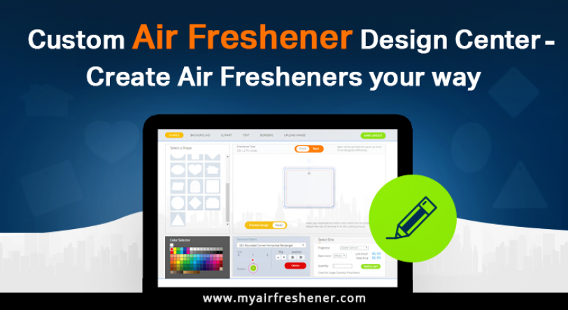 Custom Car Air Fresheners and Design Center – Create Air Fresheners your way