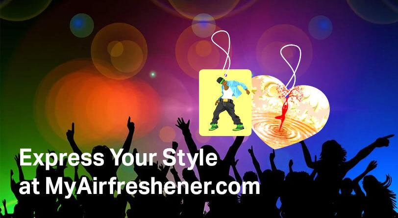 Express Your Style at MyAirfreshener.com