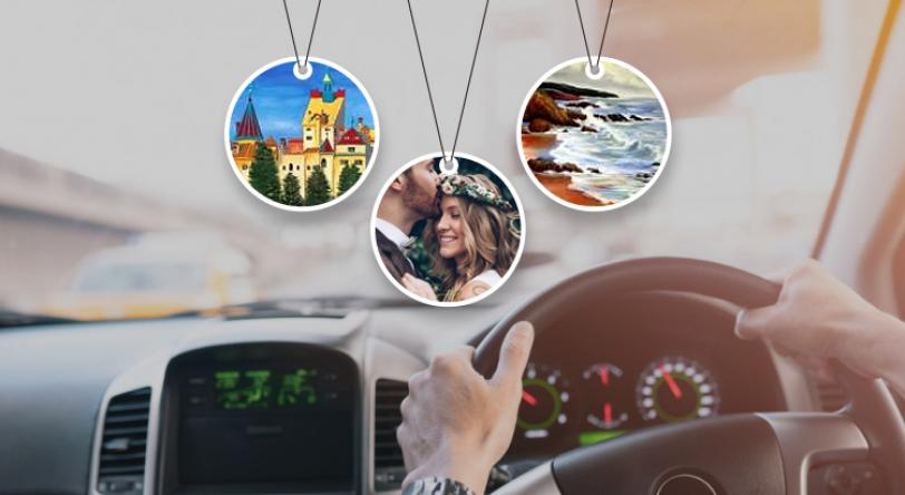 Looking for Custom made Air Fresheners? myairfreshener.com - The First interactive website where you can create unique air fresheners