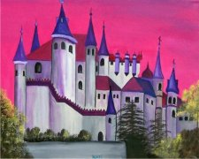Count Dracula's Castle Car Air Freshener | My Air Freshener