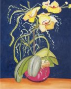 Yellow Orchids Car Air Freshener | My Air Freshener