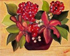 Christmas Bouquet Car Air Freshener | My Air Freshener