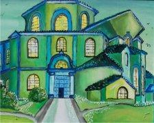 Byzantine Church Car Air Freshener | My Air Freshener