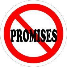 NO PROMISES Air Freshener | My Air Freshener