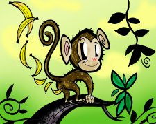 Monkey Fart Air Freshener