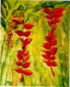 Red Garden Flowers