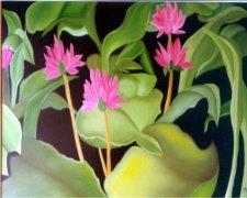 Pink Flowers Car Air Freshener - My Air Freshener