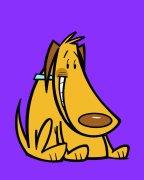Purple Dog Air Freshener