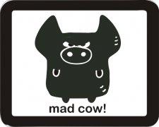 Tubbytoons' MOODY ME Mad Cow Air Freshener | My Air Freshener