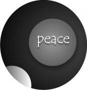 Circles of Life...Peace  on a Car Air Freshener   My Air Freshener