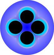 Four Eyes Abstract Car Air Freshener   My Air Freshener