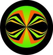 Alien Eyes Abstract Car Air Fresheners | My Air Freshener
