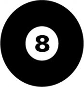 Eight Ball Car Air Freshener | My Air Freshener