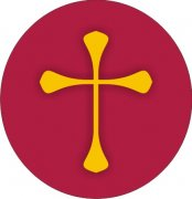 Gold Christian Cross Air Freshener | My Air Freshener