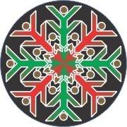 Multi-colored Snowflake Car Air Freshener - My Air Freshener