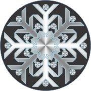 Cool Car Air Fresheners - Snowflakes 2   My Air Freshener