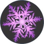 Purple Beauty Snowflake Car Air Freshener | My Air Freshener