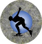 Ice Skater Car Air Freshener - My Air Freshener