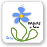 Eco Friendly Air Fresheners | My Air Freshener - Sunshine Daisy | My Air Freshener