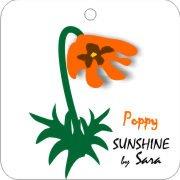 Eco Friendly Air Fresheners | My Air Freshener - Sunshine Poppy | My Air Freshener