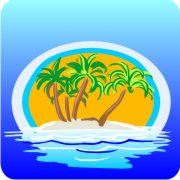 Eco Friendly Air Fresheners | My Air Freshener - Island in the Sea | My Air Freshener