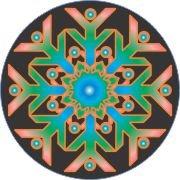 Hypnotic Beauty Snowflake Car Air Freshener | My Air Freshener