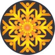 Sunburst Snowflake Air Freshener