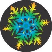 Sweet Melody Snowflake Air Freshener