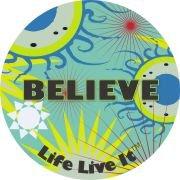 Designer Air Fresheners | My Air Freshener - Life Live It - Believe - My Air Freshener