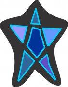 Blue Moon Little Star Car Air Freshener | My Air Freshener