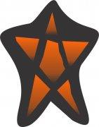 Amber Light Little Star Car Air Freshener | My Air Freshener