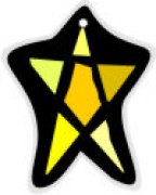 Sunburst Little Star Car Air Freshener | My Air Freshener