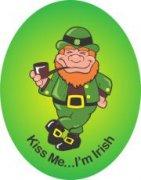 My Air Freshener Specials   Custom Air Fresheners - Kiss Me I'm Irish - My Air Freshener