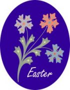 My Air Freshener Specials   Custom Air Fresheners - Easter Flowers - My Air Freshener