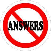 NO ANSWERS Air Freshener   My Air Freshener